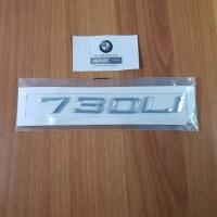 Emblem Angka letter 730Li BMW e32 e38 e65 e66 f01/02 dll posisi bagasi