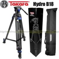 Tripod TAKARA Hydro B18 Profesional Video Tripod Broadcast Libec