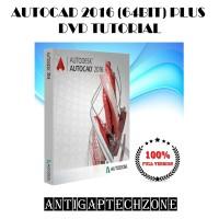 AUTOCAD 2016 (64BIT) PLUS DVD TUTORIAL (2DVD's) Full Version