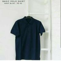 Kaos kerah polo shirt premium bahan cotton pique unisex