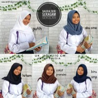 Jilbab Segi Empat SAUDIA ORIGINAL Polos Rawis