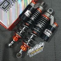 Shockbreaker DBS GP Series 320mm RX KING W175 SUPRA TIGER Black/Titan