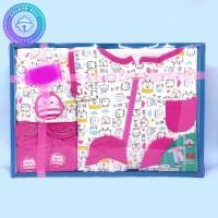 Paket Jumpsuit Bayi Baru Lahir / Jumper / Gift Set Baby Newborn Pink