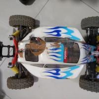 kit Rc buggy 1/8 Hobao elektrik bonus ban baru