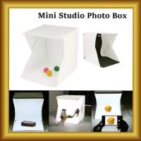 Mini Photo Studio Box Folding Kotak Tempat Foto Portable Led