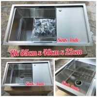 Laris Bak Cuci Piring Westafel Set Plus kitchen Sink 1 Lubang 86cm