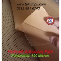 Lem PU 150 Micron Logo Emblem Kain Badge Patch kulit karet silicon