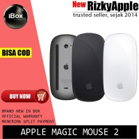 TERMURAH ORIGINAL Magic Mouse 2 Original Apple Garansi Apple 1 Tahun