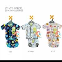 setelan kutung merk velvet fish/baju bayi/kado/perlengkapan bayi lahir