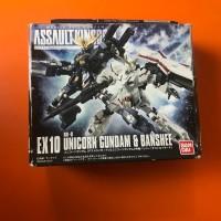Assault Kingdom EX10 Unicorn Gundam & Unicorn Gundam 02 Banshee