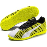 Sepatu Futsal PUMA ONE 5.4 IT Puma White-Puma Black-Ye 105654 04