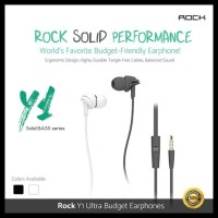Rock Lava Y1 Iem Hifi Stereo Solid Bass In-Ear Earphone With Mic