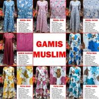 Baju Gamis Syari Wanita KATUN JEPANG