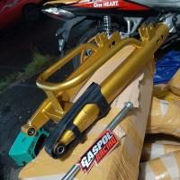 SWING ARM OVAL RX KING BESI TEBAL GOLD EMAS LENGAN AYUN GASPOL RACING