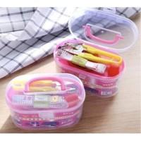 Sewing Kit Set 8 Benang Set Alat Jahit Kecil Perlengkapan Jahit