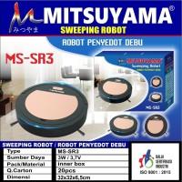 Mitsuyama Robot Vacuum Cleaner MS-SR3 Sweeping Robot Penyedot Debu
