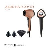 Remington AIR3D Hair Dryer - D7777-AP / Pengering Rambut