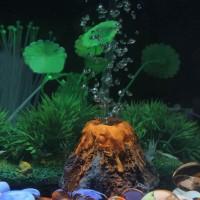 Aksesoris Aquarium Aquascape Gunung Berapi - Hiasan Akuarium Aerator 2