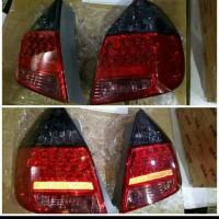 stoplamp Honda jazz 2004-2008 LED smoke red