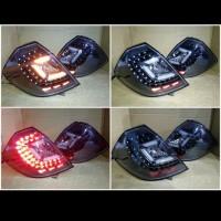 stoplamp Honda jazz RS 2008-2013 LED crystal black housing