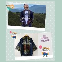 OUTER KIMONO TENUN ETNIK JEPARA P9/baju batik pria