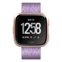 Fitbit Versa Special Edition Smart Watch | Lavender Woven | One Size
