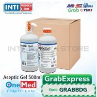 ONEMED - Aseptic Gel 500 ml Pump & Refill (Paket)