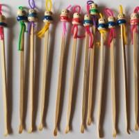 Korek kuping kayu lucu - Pembersih telinga