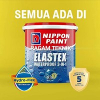 nippon paint cat elastex 1 kg waterproof 3 in 1 pelapis anti bocor
