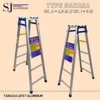 Tangga Lipat Aluminium Sahara Biru 1,5 m/150 cm - Kuat & Berkualitas