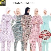 Baju Tidur Piyama Wanita Muslimah Lengan Panjang Endomoda PM 75 Ori