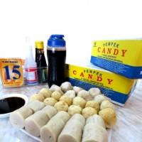 PROMO!! Pempek Candy Asli Khas Palembang Cemilan Mpek mpek Paket Kecil
