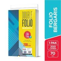 SiDU Double Folio Bergaris 200 lembar 70 GSM