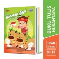 SiDU Buku Tulis Nusantara 38 Lembar - 10 Buku