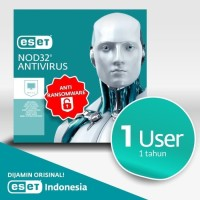 Antivirus ESET NOD32 Antivirus - 1 Komputer 1 Tahun