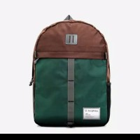 VISVAL Dazzle Backpack Olive Green authentic