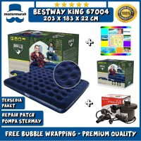 Bestway Matras Kasur Angin King 203cm x 183cm Air Bed King Size 67004