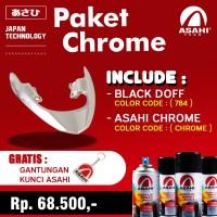 PAKET CAT ASAHI CHROME