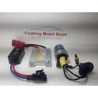 Lampu Mobil Fog lamp Single HID INFINITY H4 ( instalasi )