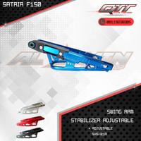 Swing arm arem qtt Satria fu150 stabilizer Adjustable SRS-01A