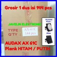 Grosir 1 dus AX 61C Tweeter Walet Audax Nesting Plank isi 144 AX61C 61
