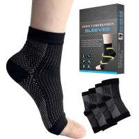 Kaus pergelangan kaki olahraga Import Ankle Sock Foot Compression