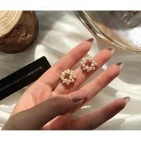 Anting Tusuk Wanita Fashion Korea Pearl Earring Simple Elegant Premium