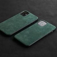 YMW ALCANTARA Case for iPhone 11 Pro Max Xr Xs Max 7 8 Plus Luxury Art