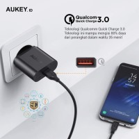Aukey Home Charger 1 Output PA-T9 Fast Charging - QC
