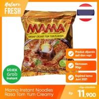 Mie Instan Mama Shrimp Tom Yum Creamy Kemasan 90g Makanan Thailand