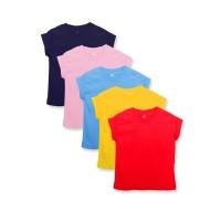 Baju Kaos Polos Anak Kaos Oblong Basic Tee T-Shirt Anak Bayi