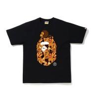 BAPE FLAME X MILO EXCLUSIVE JAPAN TEE - ORIGINAL 100%