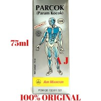 Parcok 75ml / Param Kocok Air Mancur