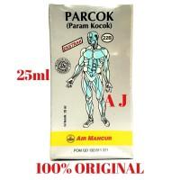 Parcok 25ml / Param Kocok Air Mancur